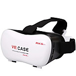 3D Movie VR Case Head Mount Plastic VR BOX Version Virtual Reality Glasses for Smart Phone