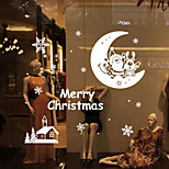 Christmas Wall Stickers  Romance / Still Life / Shapes Wall Stickers Plane Wall Stickers,vinyl 79*84.3cm