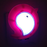 Creative Warm White Bird Light Sensor Relating to Baby Sleep Night Light(Random Color)