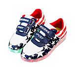 Boys' LED Shoes Outdoor / Athletic / Casual Leatherette Sandals / Fashion Sneakers Blue