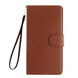 The Embossed Leather Wallet Left Open for Nokia LumiaN630/N730/N535/N640XL