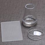 Alien Transparent With Cover The Seal+Big Scraper 3.8 cm Transparent Silicone Head