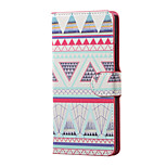 Triangles Pattern Magnetic PU Leather wallet Flip Stand Case cover for Sony Xperia XA PP10 F3111 F3112 F3113