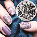2016 Latest Version Fashion Pattern Nail Art Stamping Image Template Plates