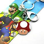 new super mario bros clés rouge / bleu / vert alliage plus d'accessoires