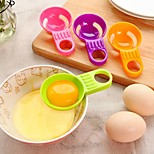 Mini Egg Yolk White Separator With Silicone Holder (Random color)