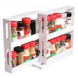 Chef's Edition Spice Stack - Bottle Spice Organizer, White