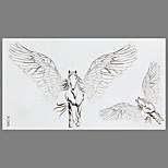 Fashion Tattoo Flying Horse Waterproof Tattoo Stickers