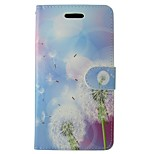 Dandelion PU Leather Flip Case with Magnetic Snap and Card for Huawei Ascend P9/P8/P8 LITE/P7/G6/Y550