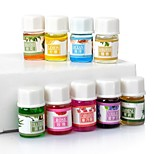 12 Kinds of Fragrance / 100% Pure Lavender Water Soluble Essential Oils Pack for Aromatherapy / Spa / Massage / Bath