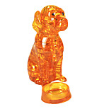 The New 3D Crystal Blocks Puzzle The Puppy Three-Dimensional Puzzle The Golden Retriever Crystal Blocks