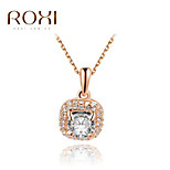 ROXI Golden Zircon Pendant Necklace Jewelry