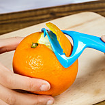 3in1 Orange Fruit Peeler Scraper  Barker Random Color