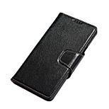 5 Galaxy Note caso, caso del soporte del cuero genuino de yak con 2 ranuras para tarjetas y 1 bolsillo monedero para la nota 5