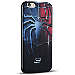Embossed Super Hero Protective Back Cover Soft iPhone Case for iPhone 6S Plus/iPhone 6 Plus
