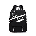 Bag Inspired by My Neighbor Totoro Cat Anime Cosplay Accessories Bag / Backpack Black Canvas Male / Female