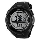Sports Watch Heren / Uniseks Waterbestendig / s Nachts oplichtend / Snelheidsmeter / Stappenteller / Stopwatch Japanse quartz Digitaal