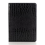 Compatible Solid Color/Crocodile Skin Pattern PU Leather Smart Covers/Folio Cases w/ Kickstand for iPad Pro 9.7