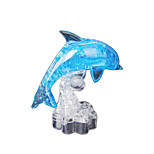 3D Crystal Dolphin Blocks Puzzle Diy Creative Educational Toys Small Children Toys