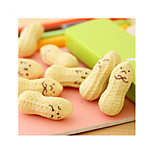 1PC New Cute Peanut Rubber Eraser Lovely Cartoon Korean Stationery for kids Children School Supplies(Style random)
