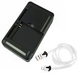 ismartdigi i-uc cargador de batería universal + cable USB para Sony HTC Samsung y otros dispositivos móviles