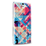 3D Relief Graphic Pattern Fashion PC Material Back Cover for Sony Xperia Z5