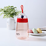 1PC 400ML  8*8*19.1cm PC+ABS Creative Gifts A Caged Bird Cup