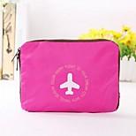 Travel Bag / Packing OrganizerForTravel Storage / Luggage Accessory Fabric Blue / Green / Orange / Rose 40*43*20