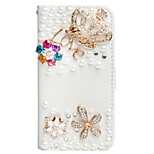 Luxury 3D Bling Crystal Rhinestone Wallet Leather  Flip Card Pouch Stand Cover Case for iphone 6/6s/6Plus/6s Plus