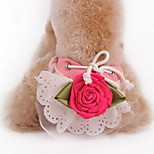Dog Pants Green / Pink / Yellow Summer Floral / Botanical Fashion / Holiday-Lovoyager