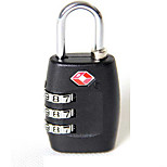 Luggage LockForLuggage Accessory Plastic / Alloy Black 6*3