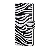 Zebra Pattern Magnetic PU Leather wallet Flip Stand Case cover for Sony Xperia XA PP10 F3111 F3112 F3113