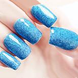 Ekbas Environmentally Safe Sugar Gum Blue Matte Nail Glue 16ML Nail Polish