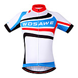 Wosawe Cycling Tops / Jerseys Unisex BikeMoisture Permeability / Quick Dry / Reflective Strips / Back Pocket / Limits Bacteria /