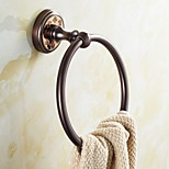ORB and Rose Gold-Plated finishing Bathroom Accessories Brass Material Towel Rings