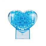 blocos pêssego 3d de amor de cristal quebra-cabeça DIY brinquedos educativos criativos brinquedos pequenos crianças