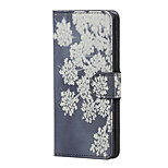 Blooming Flowers Magnetic PU Leather wallet Flip Stand Case cover for Wiko Lenny 3