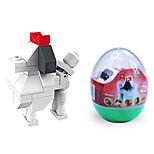 dr wan, le byggeklosser mini dyr egg emballasje puslespill montering blokker leken hund