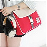 Travel BagForTravel Storage PU Leather / Plastic / Fabric Grey / Brown / Blue / Red 22*27*10