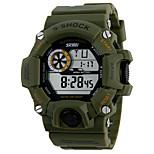 Sports Watch Unissex Calendário / Cronógrafo / alarme Quartz Digital Relógio de Pulso