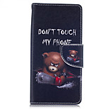 Chainsaw Bear Pattern Card Phone Holster For Huawei Honor 5X/Ascend P9/Ascend P9 Lite