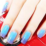 Ekbas Blue Color Gradient Nail Glue 16ML Nail Polish