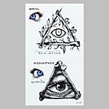 Fashion Tattoo Eye Waterproof Tattoo Stickers