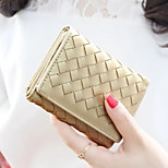 Travel WalletForTravel Storage PU Leather Gold 10.5*8.2