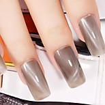 Ekbas Cat Eye Brown Matte Nail Glue 16ML Nail Polish