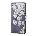 Blooming Flowers Magnetic PU Leather wallet Flip Stand Case cover for LG K5 X220