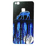 Blue Moonlight Pattern TPU Material Phone Case for  Huawei  P8 Lite/P9 Lite/G8