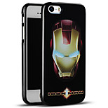 Unique Embossed Iron Man Protective Back Cover Soft iPhone Case for iPhone SE/iPhone 5S/5