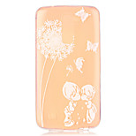 Dandelion Love Child Pattern Embossed TPU Case for LG K7/ K10