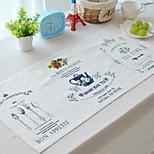 4pcs Placemats Pack Cotton Fabric Washable Fashion Pattern 27.5